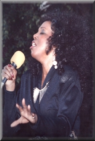 Twanna Turner rock, R & B, funk, and jazz singer